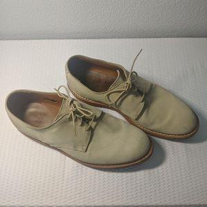 Allen Edmonds Orlean Men's Derby Suede Tan Shoes